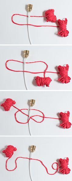 How to make a macramé cord