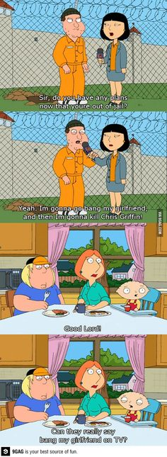 love this show Family Guy Meme, Family Guy Quotes, Funny As Hell, The Funny, Funny Images, Funny Photos, Funny Puns, Funny Stuff, Random Stuff