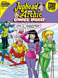 Jughead and Archie Comics Digest Free Comic Book Day, Archie Comic Publications, Inc. https://www.pinterest.com/citygirlpideas/archie-comics/