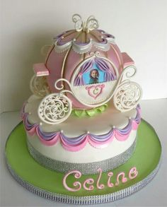 Princess Carriage Cake