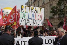 Paris : Les syndicats mobilisés contre la loi Macron - Politique - via Citizenside France. Copyright : Christophe BONNET - Agence 73Bis