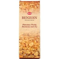 Benzoin Incense  Hem 20 Stick Hex Tubes  Sold in a set of 4 tubes *** Want additional info? Click on the image.