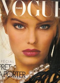 Kelly Emberg - Paris Vogue