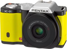 Our preview of the Pentax K-01 mirrorless camera.    The camera's rather interesting design is the work of respected product designer Marc Newson and features a logo of his signature on the base of the camera.    http://tmblr.co/Z-pvpwIM2FG-
