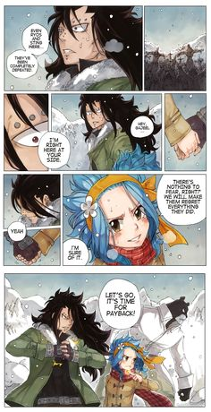 ch. 480 - Northern Tombstone (Extra)  Something I thought about when the chapter came out. Gajeel looked truly shocked, luckily Levy is there to become his strength when he needs the push. Made by Rboz | sketchy ✖ flavor