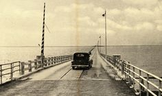 BLOG: If you've ever made it from St. Petersburg to Tampa in less than an hour, count yourself lucky. It wasn't always so easy. Prior to 1924, the only way to get between those two points was to drive all the way around the north shore of Old Tampa Bay via Oldsmar. All that changed, however, with the opening of the original Gandy Bridge. | Florida Memory