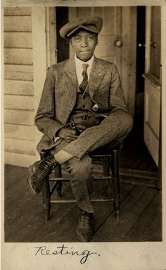 Resting    [Saulsberry Family Album, 1920's-50's]    ©WaheedPhotoArchive, 2011
