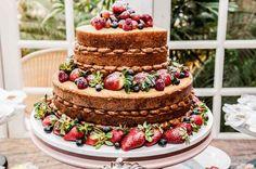 Os 6 sabores mais pedidos para bolos de casamento