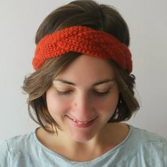 Love That Anthro Headband Braid #crochetheadbandpatterns @anthropologie