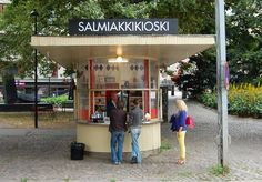 Yummy.....Salmiakki - the fierce salted Finnish liquorice seems to be on everyone's lips! We covered an article about Helsinki's only Salmiakki kiosk this summer and now BBC is on it as well. It looks like Finnish Salmiakki is taking the fast lane to be a world renowned treat!