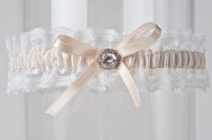 The Corrie Garter on the blog of Lela New York Weddings | NYC Wedding Inspiration | Luxury Invitations | New York Wedding Blog