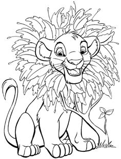 the lion king coloring pages coloring pages for kids disney coloring pages printable coloring pages color pages kids coloring pages coloring - Free Colouring Pages For Children