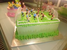 "Birthday Cake ""Soccer Arena"" - Made By: Strawberry Delight"