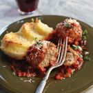 Try the Roman-Style Meatballs with Gnocchi alla Romana  Recipe on williams-sonoma.com