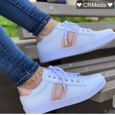 Different Types Of Sneakers – Sneaker Deals Cute Sneakers, Girls Sneakers, Casual Sneakers, Girls Shoes, Casual Shoes, Shoes Sneakers, Shoes Women, Fashion Boots, Sneakers Fashion