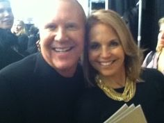 Had a great time at the Michael Kors show for NY Fashion Week!