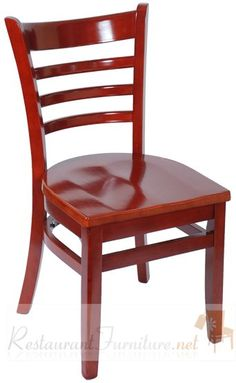 Wood Ladder Back Restaurant Chair  With Finish Color Choices Wood Restaurant  Chairs, Woods Restaurant