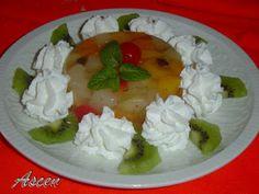 Flan de macedonia de frutas