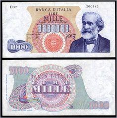 Collezione Personale di Banconote Italiane: 0.1.1. - 1000 LIRE VERDI I TIPO