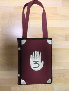Gravity Falls, Journal 3, shoulder bag, Handmade, 30 x 40cm