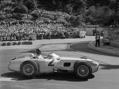 tarsilveira: Juan Manuel Fangio - Mercedes - 1955 Monaco F1 Grand Prix