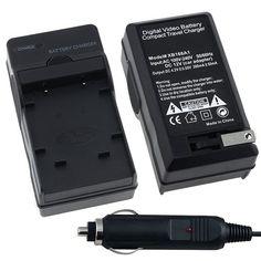 Nikon EN-EL10 AC / DC Replacement Battery Charger Set for Nikon CoolPix S200 / S210 / S220 / S230 / S3000 / S4000 / S500 / S510 / S520 / S570 / S60 / S600 / S660 / S700 Digital SLR Camera $4.79