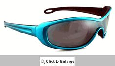 Chaser Sport Wrap Sunglasses - 145A Blue