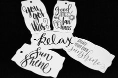 Set of 5 Inspirational Gift Tags, You Got This Tag, Relax Tag, Sunshine Tag, Create your own Sunshine Tag, Good Times and Tan Lines Tags, by TheArtOfCreativityCo on Etsy Purchase Card, Tan Lines, Inspirational Gifts, Good Times, Gift Tags, Sunshine, Relax, Store, Create