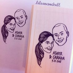 Custom Portrait Stamp @lilimandrill www.lilimandrill.fr @etsy #savethedate #EtsyGifts #selfie #etsywedding #wedding #bridesmaid #bride #diy #giftforcouple #portraitstamp #stamp #personalizedgift #gift #weddinggift #Love #lovers #engaged #uniquegift #bacheloretteparty #instagood #instawedding #weddingidea