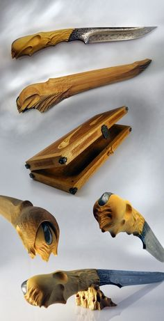 Matthieu Petitjean knives