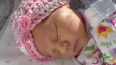 free crochet pattern!  baby turban :)