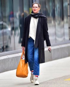 Jenna Lyons is seen in Soho on March 12 2018 in New York City