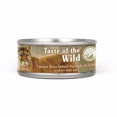 Find Taste of the Wild Canyon River Feline Formula With Trout and Salmon in Gravy, oz. Can in the Cat Food category at Tractor Supply Co. Tractor Supplies, Cat Supplies, Canned Cat Food, Canyon River, Formula Cans, Trout, Gravy, Pet Care, Dog Bowls