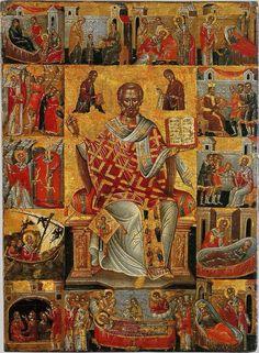 Αγ.Νικολαος Αρχιεπισκοπος Μυρων Της Λυκιας, Ο Θαυματουργος (; - 330) _ dec 6