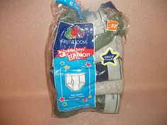 , BOYS SIZE 2-3 T UNDERWEAR. 5 PAIR .FRUIT OF THE LOOM. NEW IN PACKAGE.