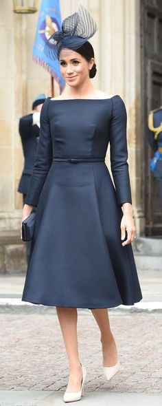 10 Jul 2018 - Meghan Markle, the Duchess of Sussex attends RAF Centenary service