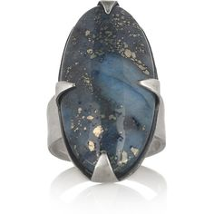 Chan Luu Silver lapis lazuli ring ($64) ❤ liked on Polyvore featuring jewelry, rings, accessories, chan luu jewelry, lapis lazuli ring, adjustable silver rings, cabochon jewelry and cabochon ring