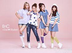 Dal Shabet Subin, Woohee, Ahyoung & Jiyul