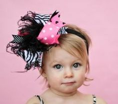Free Homemade Hair Bows Instructions   DIY Projects / Barbie Girl Over The Top Bow