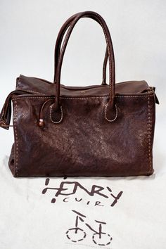 Carry Cuir Bag Love Bag Beguelin Tote Henry Bolsa Mis Henry bolsos 7PvCq