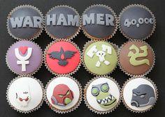 Warhammer 40k cupcakes