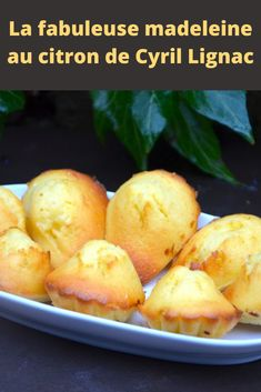 The fabulous lemon madeleine by Cyril Lignac - Page 2 - All recipes . - The fabulous lemon madeleine by Cyril Lignac – Page 2 – All recipes com - Naan, Chefs, Madeleine Recipe, Cake Factory, Burger Buns, Eat Smart, Healthy Breakfast Recipes, Coco, Biscuits