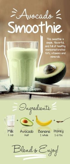 and Delicious Creamy Avocado Smoothie – Just 5 Ingredients The Amazing and Delicious Creamy Avocado Smoothie – Just 5 Ingredients.The Amazing and Delicious Creamy Avocado Smoothie – Just 5 Ingredients. Apple Smoothies, Strawberry Smoothie, Healthy Smoothies, Healthy Drinks, Smoothie With Avocado, Avocado Drink, Avocado Shake, Breakfast Smoothie Recipes, Easy Smoothie Recipes