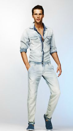 Tomas Skoloudik for Gas Jeans S/S 2012 lookbook