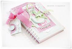 scrappassion: notatniki dwa ;) cute recipe book cover