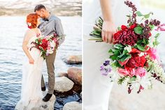 Vibrant Lakeside Elopement Inspiration | Green Wedding Shoes Wedding Blog | Wedding Trends for Stylish + Creative Brides