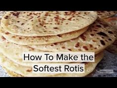 How To Make Rotisby Mrs Admin (mashuda) on 21 Jan 2017 Roti Skin Recipe, Roti Recipe Guyanese, Roti Recipe Easy, Roti Recipe Indian, Jamaican Roti Recipe, Guyanese Recipes, Jamaican Dishes, Jamaican Recipes, Spicy Dishes