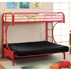 donco kids twin futon stairway bunk bed honey 200ttsh300 twin futon and products