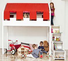 Casita loft bed from Kid's Modulor,