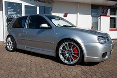 """Ultraleggera HLT 19"""" on VW Golf IV R32 Bi-Turbo #OZRACING #ITECH #ULTRALEGGERA #HLT #RIM #WHEEL"""